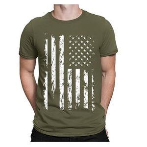 Other - NWT Moss Green USA Flag T-Shirt S M L XL 2XL 3XL